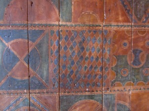 Detalle de puerta bereber