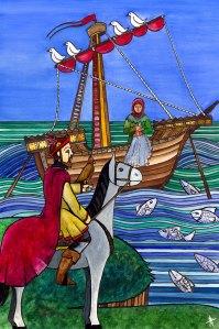 El conde Arnaldos y el marinero, la mañana de San Juan.